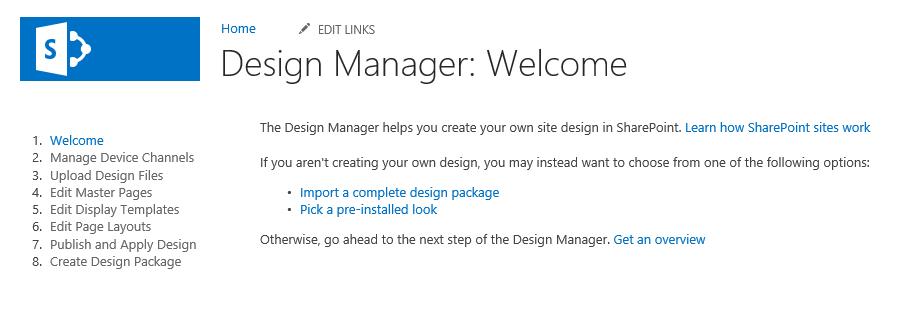 SharePoint Using Designer Manager - Sharepoint design manager