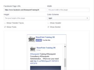 Facebook Config