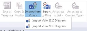 Visio 2013 Import To SharePoint